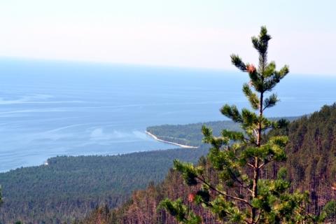 Россия, озеро Байкал, Баргузинский заповедник, Святой нос