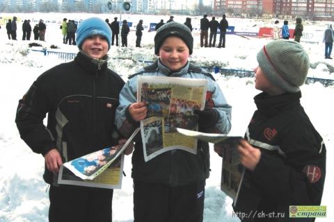 День российской печати - мы читаем Школьную страну