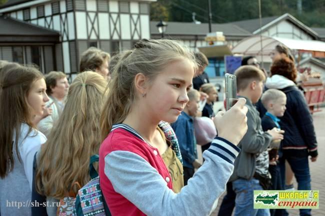 «Мне посчастливилось родиться на Руси!», экскурсия, школьная страна