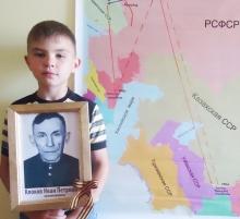 Жирнов Данила Алексеевич с фотографией прадеда